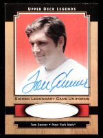 Tom Seaver 2001 Upper Deck Legends Legendary Game Jersey Autographs #SJTS at PristineAuction.com