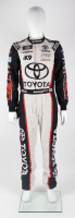 Brandon Jones Race-Used NASCAR Toyota Driver's Suit (JGR LOA & PA COA) at PristineAuction.com