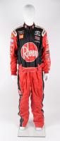 Christopher Bell Pit Crew Team Rheem Race-Used NASCAR Firesuit (JGR LOA & PA COA) at PristineAuction.com