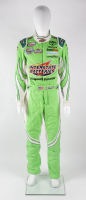 Erik Jones Race-Used NASCAR Interstate Batteries Driver's Suit (JGR LOA & PA COA) at PristineAuction.com