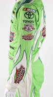 Erik Jones Race-Used NASCAR Interstate Batteries Driver's Suit (JGR LOA & PA COA) at PristineAuction.com