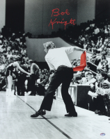 Bob Knight Signed Indiana Hoosiers 16x20 Photo (Schwartz COA) at PristineAuction.com