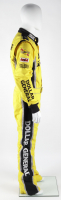 Denny Hamlin Race-Used NASCAR Dollar General Driver's Suit (JGR LOA & PA COA) at PristineAuction.com
