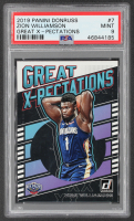 Zion Williamson 2019-20 Donruss Great X-Pectations #7 RC (PSA 9) at PristineAuction.com