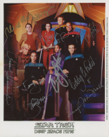 """Star Trek: Deep Space Nine"" 8x10 Photo Cast-Signed by (9) with Avery Brooks, Rene Auberjonois, Alexander Siddig, Terry Farrell, Colm Meaney (JSA ALOA) at PristineAuction.com"