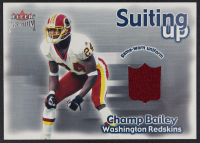 Champ Bailey 2001 Fleer Premium Suiting Up Jerseys #2 at PristineAuction.com