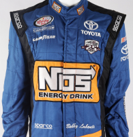 Bobby Labonte Race-Used NASCAR Nos Driver's Suit (JGR LOA & PA COA) at PristineAuction.com