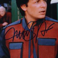 "Michael J. Fox & Christopher Lloyd Signed ""Back to the Future"" 11x14 Photo (JSA Hologram & PSA Hologram) (See Description) at PristineAuction.com"
