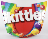 Kyle Busch Race-Used Skittles NASCAR Cup Series Hood (JGR LOA & PA COA) at PristineAuction.com