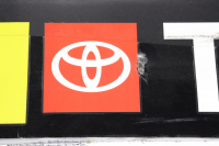 Ty Gibbs Signed Race-Used Monster Energy NASCAR Full Bumper with Rookie Stripe (JGR LOA & PA COA) at PristineAuction.com