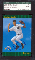 Derek Jeter Signed 1993 Select #360 RC (SGC Encapsulated) at PristineAuction.com