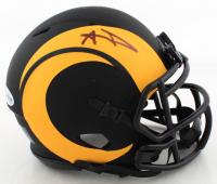 Aaron Donald Signed Rams Eclipse Alternate Speed Mini Helmet (Beckett COA) at PristineAuction.com