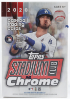 2020 Topps Stadium Club Chrome Baseball Hobby Box of (6) Packs (See Description) at PristineAuction.com