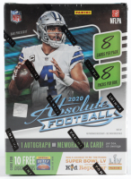 2020 Panini Absolute Football 8-Pack Blaster Box with (8) Packs at PristineAuction.com