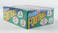 1991 Fleer Football Wax Box with (36) Packs (See Description) at PristineAuction.com
