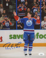 Ryan Smyth Signed Oilers 8x10 Photo (JSA COA) at PristineAuction.com