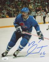 Michel Goulet Signed Nordiques 8x10 Photo (JSA COA) at PristineAuction.com