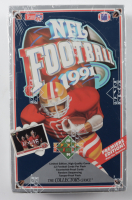 1991 Edition Upper Deck NFL Football Box of (36) Packs at PristineAuction.com