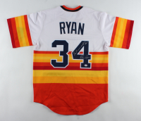 """Nolan Ryan Signed Astros Jersey Inscribed """"Don't Mess With Texas!"""" (PSA COA) at PristineAuction.com"""