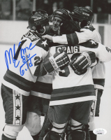 "Mike Eruzione Signed Team USA 8x10 Photo Inscribed ""80 Gold"" (JSA COA) at PristineAuction.com"