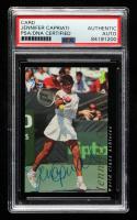 Jennifer Capriati 1992 Classic World Class Athletes #AU3 / Certified Autograph (PSA Authentic) at PristineAuction.com