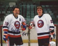 "Bryan Trottier Islanders Signed 8x10 Photo Inscribed ""HOF 97"" (JSA COA) at PristineAuction.com"