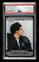 Jim Plunkett Signed 1990 Pro Set Super Bowl MVP's #15 (PSA Encapsulated) at PristineAuction.com