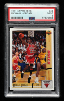 Michael Jordan 1991-92 Upper Deck #44 (PSA 9) at PristineAuction.com