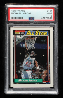 Michael Jordan 1992-93 Topps #115 All-Star (PSA 9) at PristineAuction.com