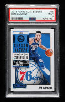 Ben Simmons 2018-19 Panini Contenders #15 (PSA 9) at PristineAuction.com