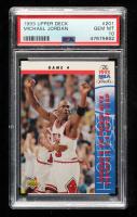 Michael Jordan 1993-94 Upper Deck #201 FIN (PSA 10) at PristineAuction.com