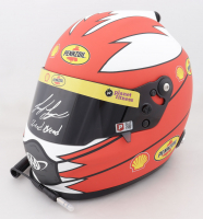 "Joey Logano Signed NASCAR Shell-Pennzoil Full-Size Helmet Inscribed ""Sliced Bread"" (PA COA) at PristineAuction.com"