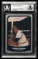 Minnie Minoso Signed 1988 Pacific Legends I #51 (BGS Encapsulated) at PristineAuction.com