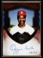 Ozzie Smith 2020 Topps Transcendent Hall of Fame Autographs #THOFOS at PristineAuction.com