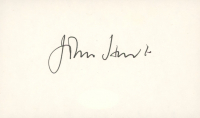 John Hurt Signed 3x5 Cut (JSA COA) at PristineAuction.com