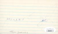 Faye Dunaway Signed 3x5 Cut (JSA COA) at PristineAuction.com