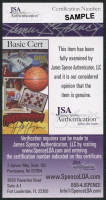 """Nancy Marchand Signed 2.5x5 Cut Inscribed """"Best Always"""" (JSA COA) at PristineAuction.com"""