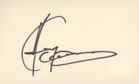 Andy Garcia Signed 3x5 Cut (JSA COA) at PristineAuction.com