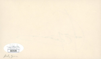 Andy Garcia Signed 3x5 Cut (JSA COA) at PristineAuction.com