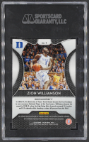 Zion Williamson 2019-20 Panini Prizm Draft Picks #1 RC (SGC 10) at PristineAuction.com