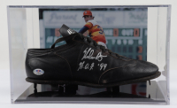 Nolan Ryan Signed Vintage Baseball Cleat with Display Case (PSA COA) (See Description) at PristineAuction.com