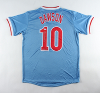 "Andre Dawson Signed Jersey Inscribed ""77 N.L. ROY"" (JSA COA) at PristineAuction.com"