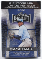 2020 Leaf Draft Baseball Retail Blaster Box with (52) Cards at PristineAuction.com