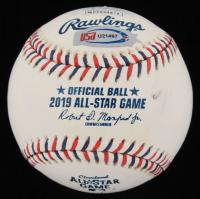 Whit Merrifield Signed 2019 All-Star Game Baseball (JSA COA) (See Description) at PristineAuction.com