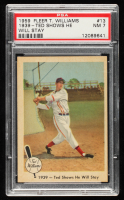 Ted Williams 1959 Fleer #13 1939 Shows Will Stay (PSA 7) at PristineAuction.com