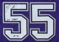 "Jason Williams Signed Kings Jersey Inscribed ""Go Kings"" (PSA Hologram) at PristineAuction.com"