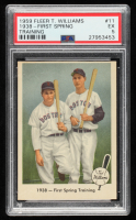 Ted Williams 1959 Fleer T.Williams / J.Foxx #11 (PSA 5) at PristineAuction.com