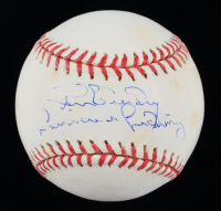 Ron Guidry Signed OML Baseball with Inscription (JSA COA) (See Description) at PristineAuction.com