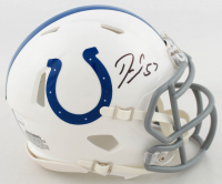Darius Leonard Signed Colts Speed Mini Helmet (JSA COA) at PristineAuction.com