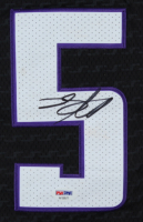 De'Aaron Fox Signed Kings Jersey (PSA Hologram) (See Description) at PristineAuction.com